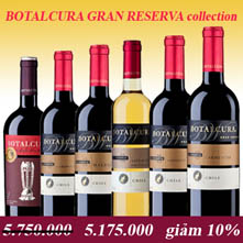 Ruou Vang Botalcura Gran Collection